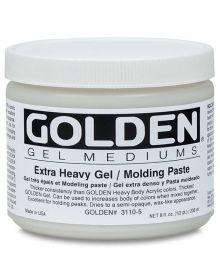 Golden Extra Heavy Gel/Molding Paste - Matte 8oz