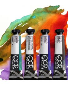 QoR Watercolour Individual Paint Tubes