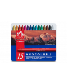 Caran d'Ache Neocolor I Wax Oil Crayons Ass. Pack of 15