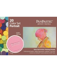 Pan Pastel Set - 20-Colour Portrait