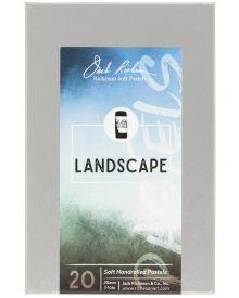 Richeson Hand Rolled Soft Pastel Landscape, 20 Piece Set