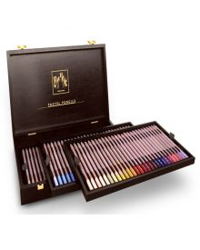 Caran d'Ache Pastel Pencil Wooden Box Set of 84