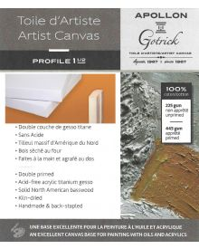 Apollon Gotrick Profile 1½ Artist Canvas