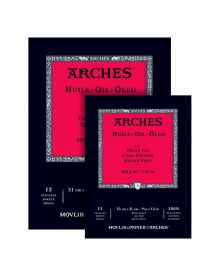 Arches Huile Oil Painting Blocks 300 GSM