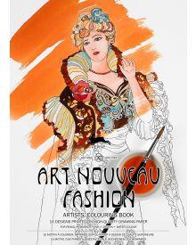 ART NOUVEAU FASHION: Artists' Colouring Books - Paperback