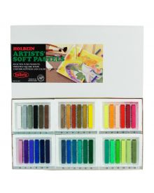 Holbein Artists' Soft Assorted, Set of 36 Pastels