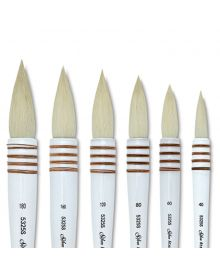 Silver Atelier Series Quill Goat Hair Brushes