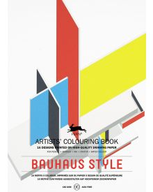 BAUHAUS STYLE: Artists' Colouring Books - Paperback