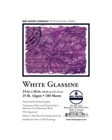BEE-Glassine Paper - 24 x 36-Inch Sheet