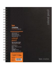 Bee Creative Coloured Pencil Book-8.5x11in