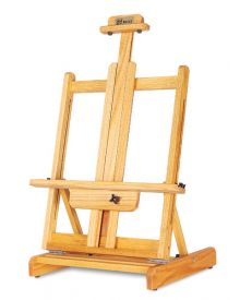 Best Deluxe Oak Tabletop Easel