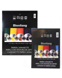 Bienfang Canvasette Paper 10-Sheet Pads