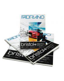 Fabriano Bristol + Smooth - 20 Sheet Pads