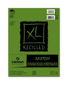 "Canson XL Recycled (Fold Over) Sketch Pad, 3.5"" x 5.5"""