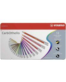 CarbOthello Pastel Coloured Pencil 12-piece Sets