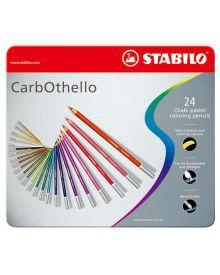 CarbOthello Pastel Coloured Pencil 24-piece Sets