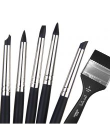 Colour Shaper Painting Tools - Extra Firm Black Points