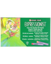 Cray-Pas Expressionist Assorted Colour Oil Pastel Set-50