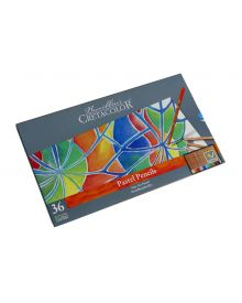 Cretacolor Pencil Fine Art Pastel Pencil Tin Set, 36