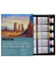 M. Graham Desert Southwest 5-Colour Watercolour Paint Set