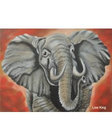 Bob Ross Oil Painting Workshop: Elephant, September 7th, 2019