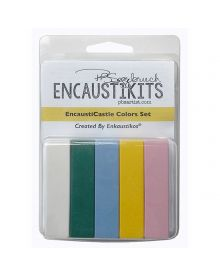 Encaustikits By Patricia Baldwin Seggebruch - Encausticastle Color Set