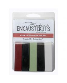 Encaustikits by Patricia Baldwin Seggebruch - Colors From The Road Set