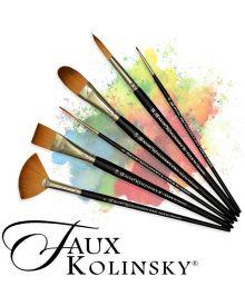 Dynasty Faux Kolinsky Series 1114 Brushes