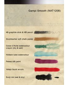 Gampi Smooth 32g, 25 x 37""