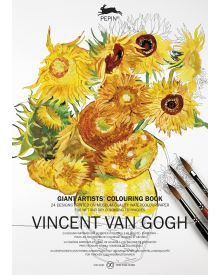 PEPIN GIANT Colouring Books - Vincent Van Gogh