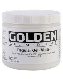 Golden Regular Gel Matte 8oz - 237ml