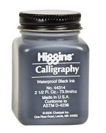 Higgins Calligraphy Ink - Black 2.5-oz