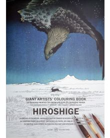 New PEPIN GIANT Colouring Books - HIROSHIGE