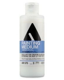 Holbein Artist Fluid Acrylic Painting Medium 200ml Bottle