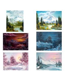 Bob Ross How To Landscape Pattern Packets