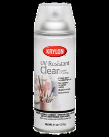 Krylon Matte UV Resistant Clear Acrylic Coating, 11 oz