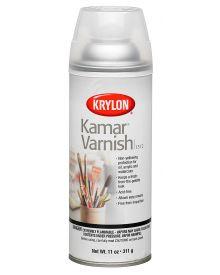 Krylon Kamar Varnish Aerosol Spray, 11 oz