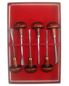 Linoleum Tool Set (6pc) Linocut Tool Kit L331-0