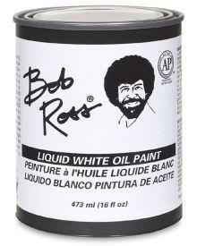 Bob Ross Liquid White Oil Paint - 16 oz.