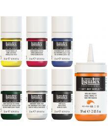 Liquitex Professional Soft Body Acrylic Paint Assorted Colours