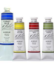 M Graham Professional Acrylic Paint Tubes