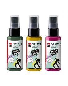 Marabu Mixed Media Acrylic Art Spray 50 ml Bottles