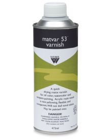 Weber Matvar 53 Varnish 473ml can