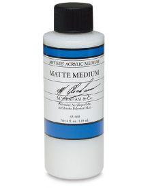 M Graham Acrylic Matte Medium - 4 oz. Bottle