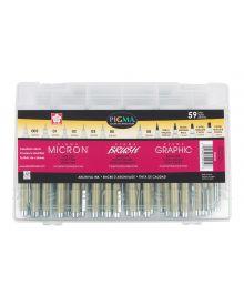 Micron Pigma Brush,Graphic & Micron Superpack