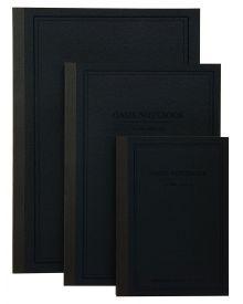 Itoya Profolio Oasis Notebooks - Charcoal (S, M, L)