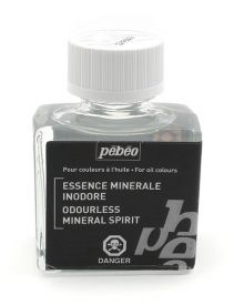 Pébéo Odourless Mineral Spirits 75 ml Bottle
