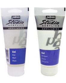 Pébéo Studio Acrylics Auxiliaries Gel Transparent
