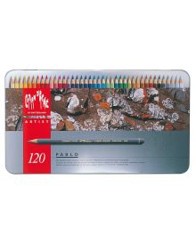 Caran d'Ache Pablo Coloured Pencil Metal Box Set of 120