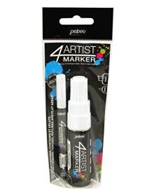 Pébéo 4Artist Marker Duo Set of (2mm+8mm) - White
